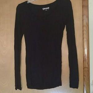 Mudd Black long sleeve shirt - juniors size S